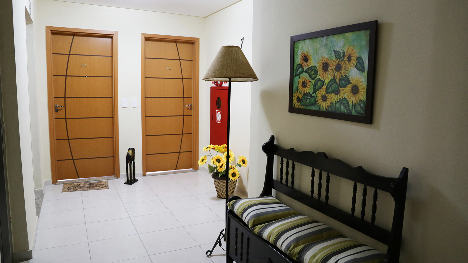 Hall apartamentos