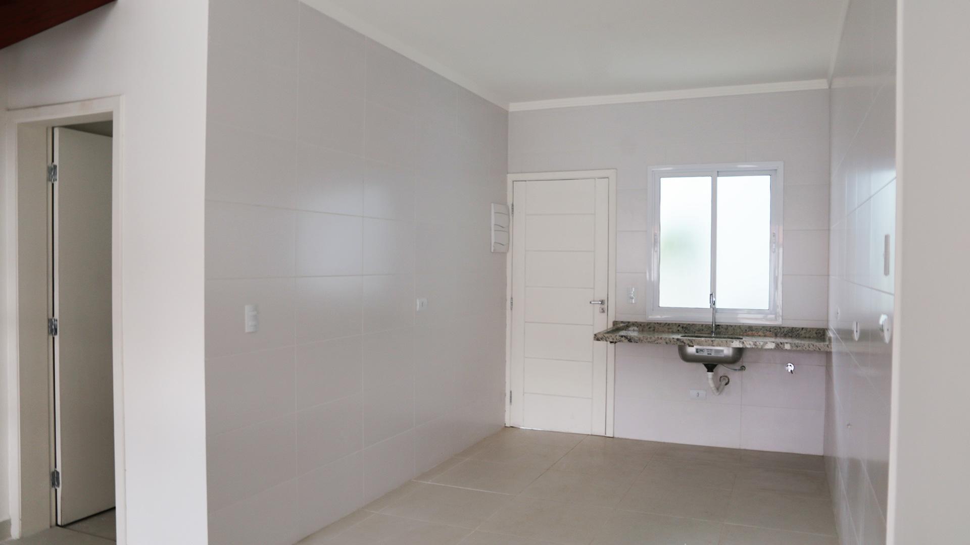 Sala-cozinha - acesso aos fundos